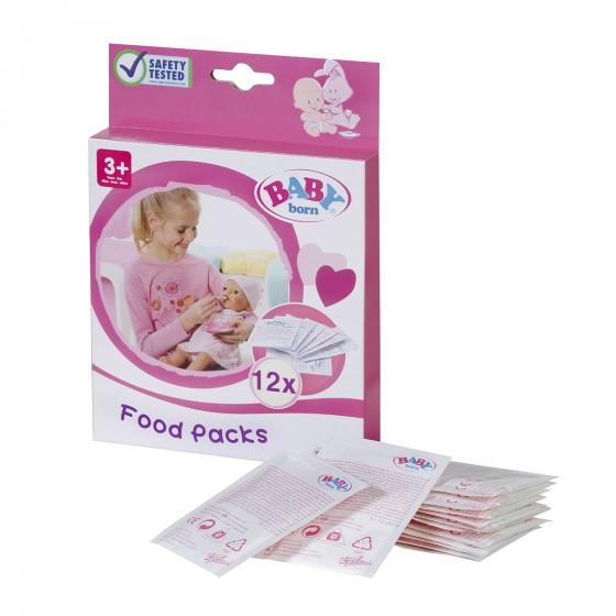 Каша для куклы BABY BORN 12 пакетиков, 779170