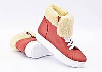 Высокие кеды-ботинки на платформе IK-1521