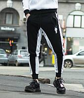 Спортивні штани Billie Eilish чорно-білі, фото 1