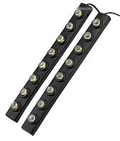 Гибкие дневные ходовые огни DRL 1202-8 (2 планки)