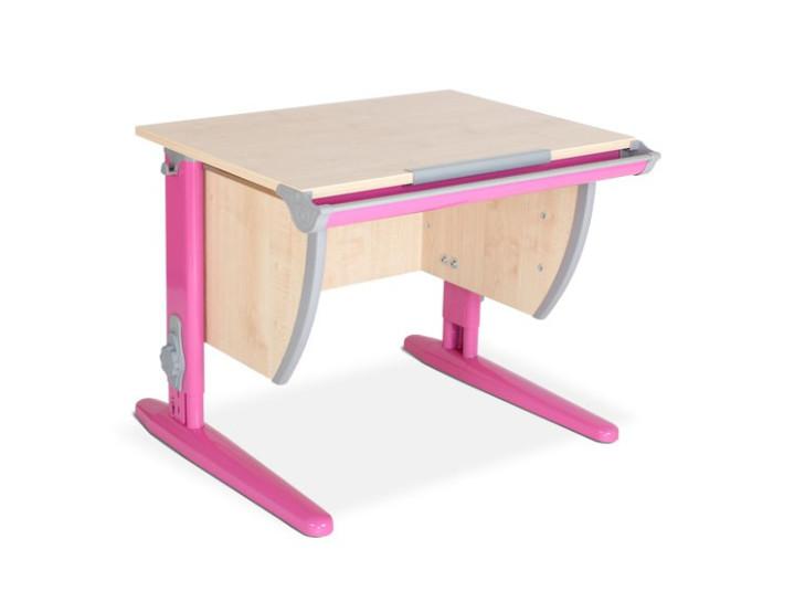 Детская универсальная парта Дэми  СУТ 14 (клён/розовый)
