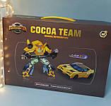 Трансформер робот+машина, 20см, оружие, в коробке, 43-30-9 см YB188-211, фото 3