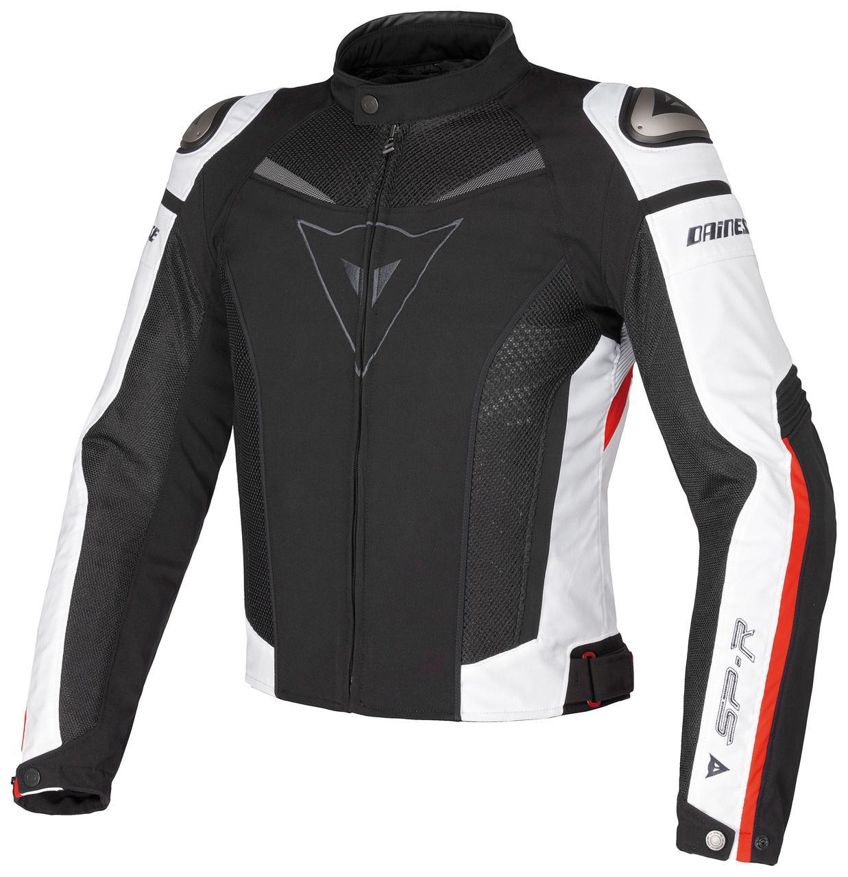 Мото куртка  Dainese SP-R TEX Black White Red