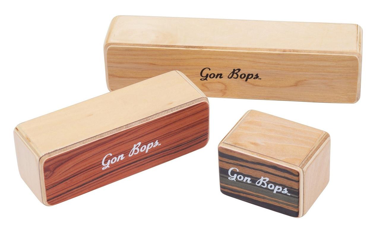 GON BOPS Fiesta Wood Shakers Набор из трех деревянных шейкеров (FSPWSH3)