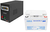 ИБП для котла 3-4ч ИБП LPY-B-PSW-500VA(350W)12V и АКБ мультигель AGM LPM-MG 12 - 40AH Подробнее: https://pechi