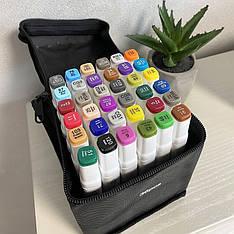 Набор Двухсторонних Скетч маркеров для рисования и дизайна Touch Smooth 36 шт.