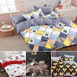 Опт Семейные комплекты постельного белья из сатина (1)