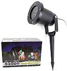 Уличный лазерный проектор с рисунками Festival Projection Lamp 12 pictures star shower   Новогодний проектор, фото 8