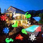 Уличный лазерный проектор с рисунками Festival Projection Lamp 12 pictures star shower   Новогодний проектор, фото 5
