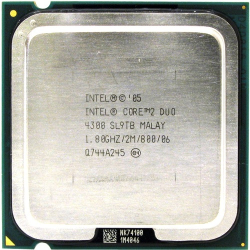 Intel Core 2 Duo E4300, б/у