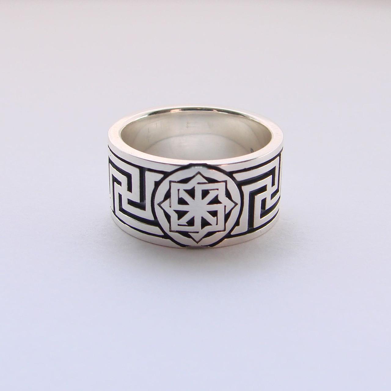 """Серебряное кольцо """"Молвинец"""", Размер 16"""