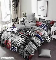 Комплект постельного белья Бродвей, семейный | Бесплатная доставка!