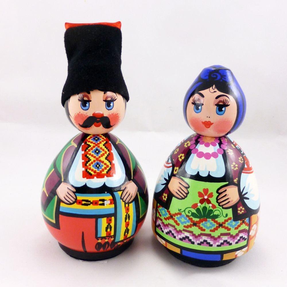 Українська лялька кругла велика (дерево) 482431