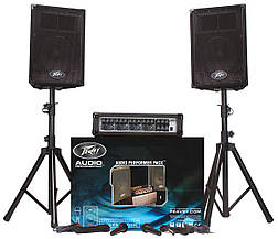 PEAVEY Audio Performer Pack Complete Portable PA System Акустический комплект (AUDIOPRFRMRPK)