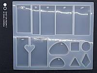 Форма силиконовая для эпоксидной смолы ( молд, подвески)