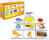 Подарочный набор 400 карточек Домана Англо-украинский чемодан - Вундеркинд с пеленок, фото 2