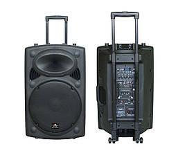 HL AUDIO USK15A BT/USB Акустическая система мобильная с радиомикрофнами и медиаплеером