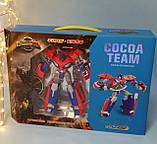 Трансформер робот+машина, 20см, оружие, в коробке, 43-30-9 см YB188-211, фото 2