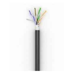 Кабель для зовнішньої прокладки 5е FTP OK-Net КППЭ-ВП (100) 4х2х0.51 бухта 305м (OKOFTP051305)