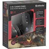 Начальный набо для геймера Defender Devourer MHP-006 kit mouse+mouse pad+headset, фото 6