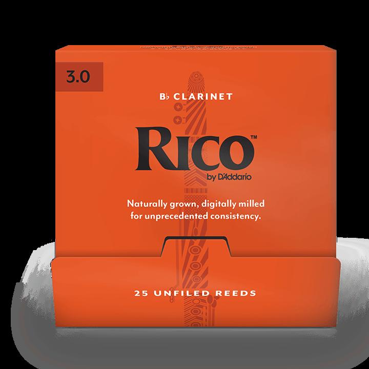 D`ADDARIO Rico - Bb Clarinet #3.0 - 25 Box Трости для кларнета (RCA0130-B25)