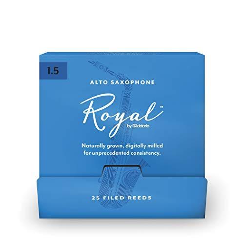 D`ADDARIO Royal - Alto Sax #1.5 - 25 Pack Трости для альт саксофона (RJB0115-B25)