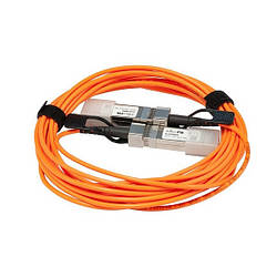 Кабель MikroTik S+AO0005 SFP+ 5m active optic direct cable attach