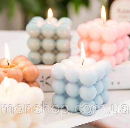 Свеча - куб (аромат и цвет на выбор)