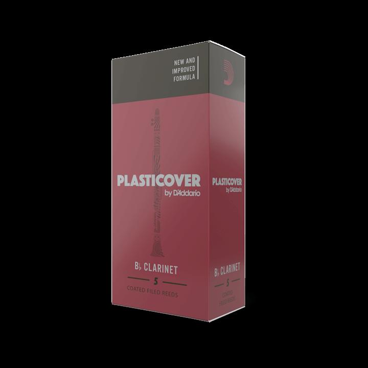 D'Addario Plasticover - Bb Clarinet #2.5 - 5 Pack Трости для кларнета (RRP05BCL250)