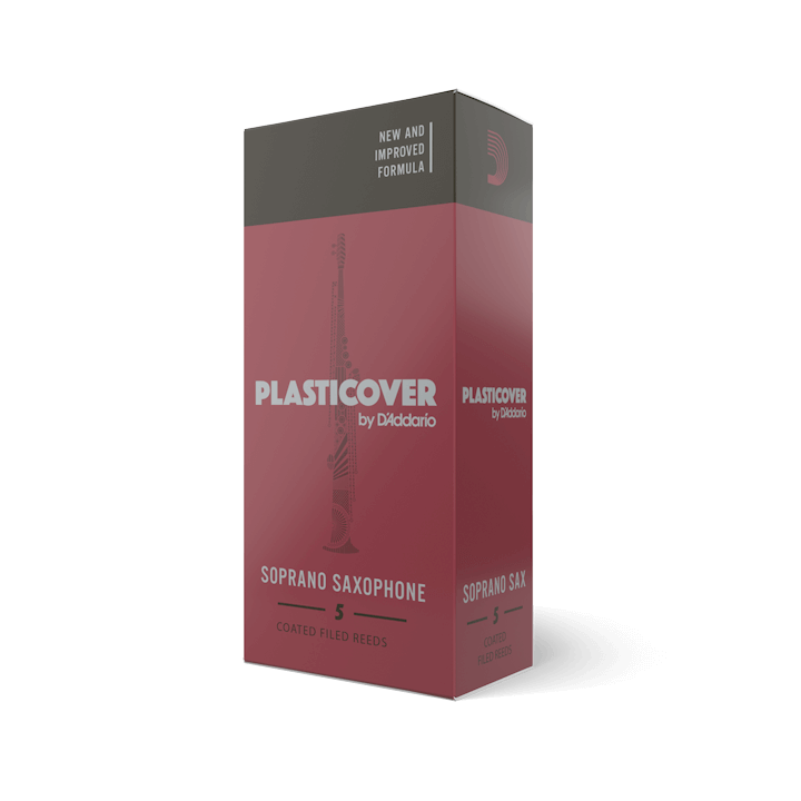 D'Addario Plasticover - Soprano Sax #2.5 - 5 Pack Трости для сопрано саксофона (RRP05SSX250)