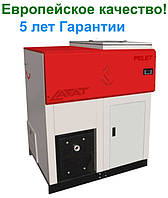 Инновационный пеллетный котёл с автоподачей Lafat Eco Pro 35 кВт с горелкой, автоматикой, бункером