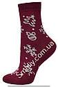 Шкарпетки оптом жіночі махрові на гумці, фото 3