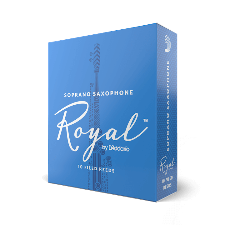 D'Addario Royal - Soprano Sax #3.0 - 10 Pack Трости для сопрано саксофона (RIB1030)