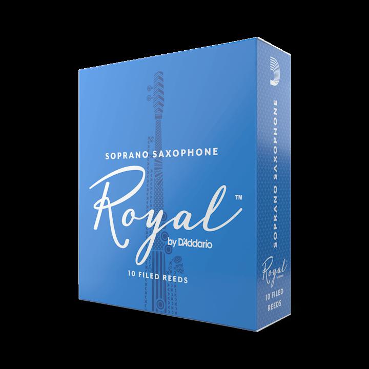 D'Addario Royal - Soprano Sax #1.5 - 10 Pack Трости для сопрано саксофона (RIB1015)