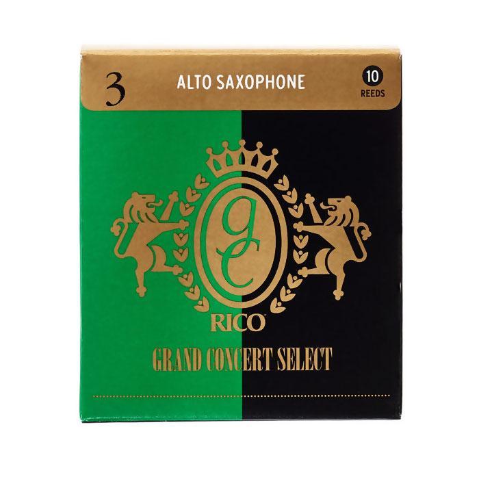 D'Addario Grand Concert Select - Alto Sax #3.0 - 10 Pack Трости для альт саксофона (RGC10ASX300)