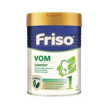 Молочна суміш Friso VOM 1 COMFORT, 0+, 400г