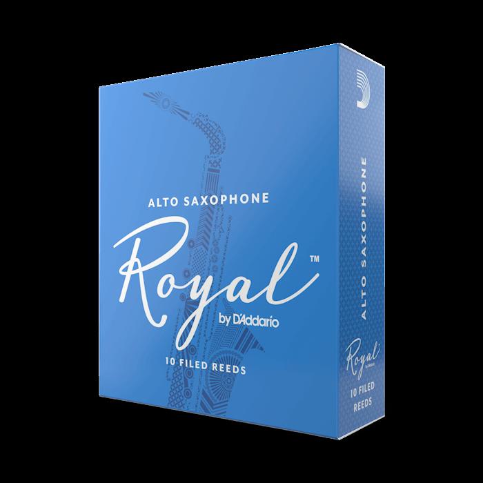 D'Addario Royal - Alto Sax #2.5 - 10 Pack Трости для альт саксофона (RJB1025)