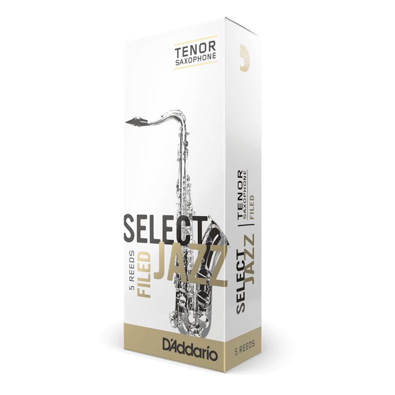 D'addario Select Jazz - Tenor Sax Filed 3M - 5 Pack Трости для тенор саксофона (RSF05TSX3M)