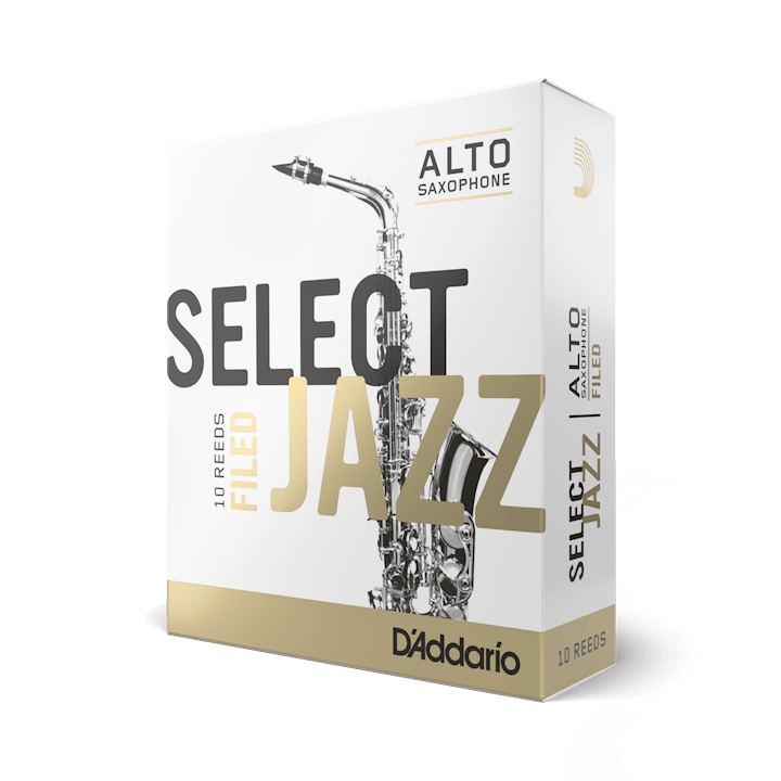 D'Addario Select Jazz - Alto Sax Filed 2H - 10 Pack Трости для альт саксофона (RSF10ASX2H)