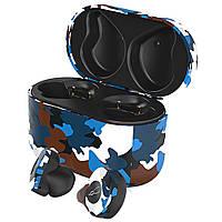 Беспроводные Bluetooth наушники Sabbat X12 Ultra Caribbean c поддержкой aptX (Черно-синий), фото 1