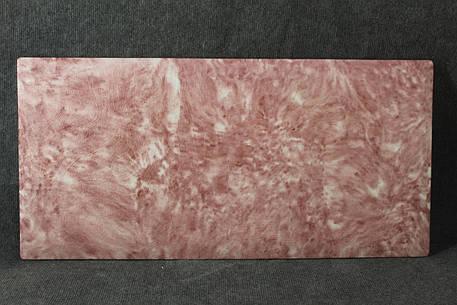 """Керамогранітний обігрівач """"Космос жакард"""" полуничний 600 Вт 1988KM6GАsp113, фото 2"""