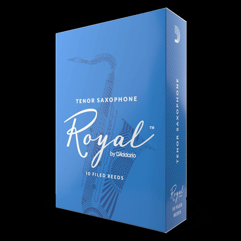 D'Addario Royal - Tenor Sax #2.5 - 10 Pack Трости для тенор саксофона (RKB1025)
