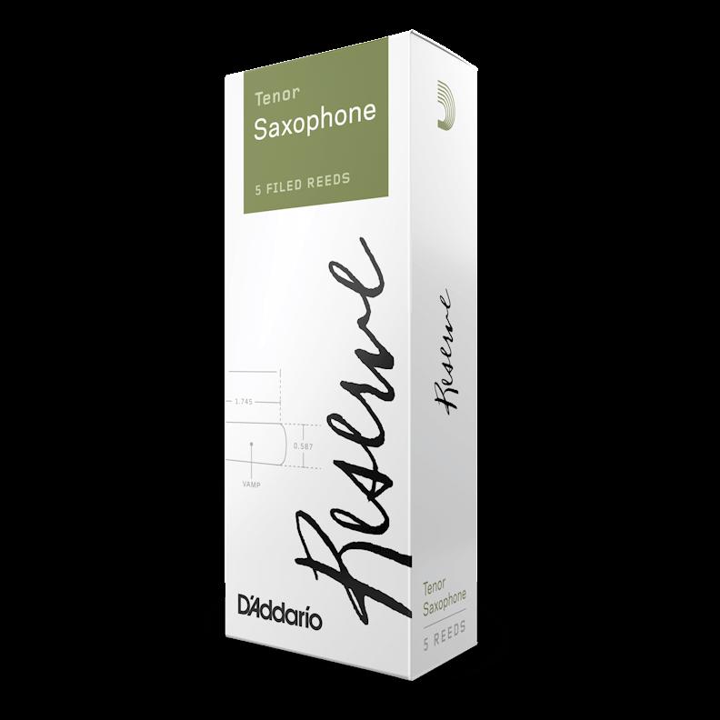 D'Addario Reserve - Tenor Sax #3.0+ - 5 Pack Трости для тенор саксофона (DKR05305)