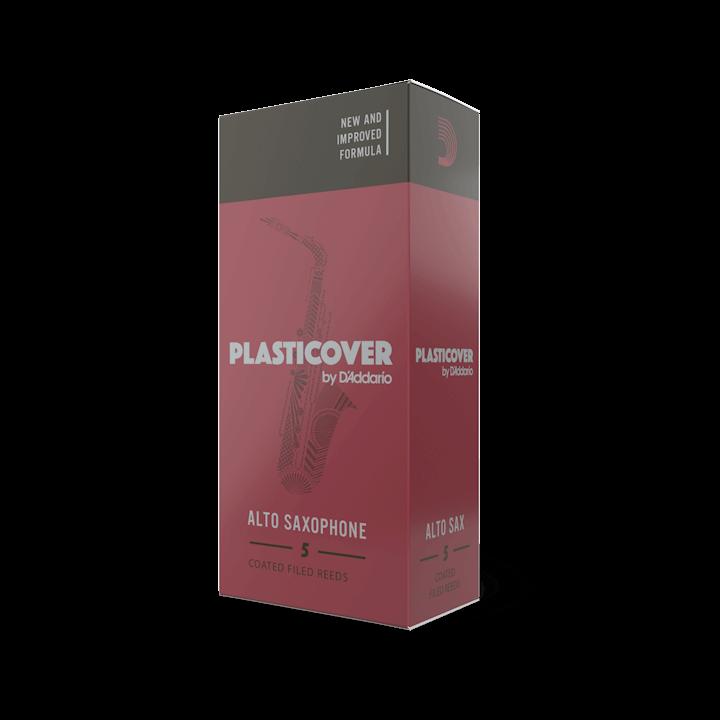 D'Addario Plasticover - Alto Sax #1.5 - 5 Pack Трости для альт саксофона (RRP05ASX150)