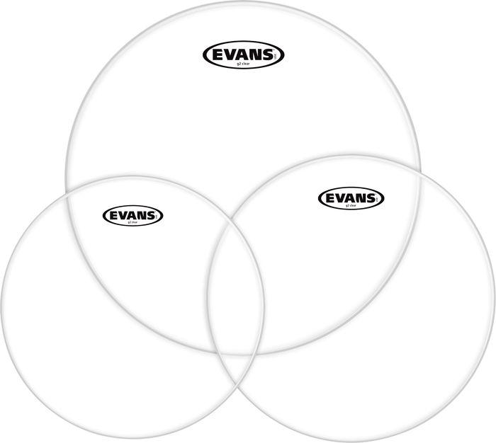 EVANS ETPG2CLR-S G2 CLEAR STANDARD Пластик для ударных