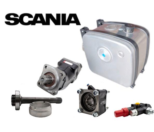 Комплект гидравлики для манипулятора SCANIА