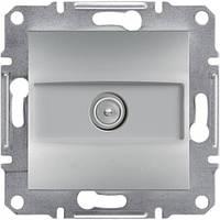 Розетка TV конечная алюминий Asfora Schneider Electric