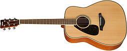YAMAHA FG820L акустическая гитара для левши