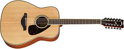 YAMAHA FG820-12 (Natural) 12-струнная акустическая гитара (FG820-12 NT)