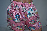 Комплектик топ + шорты Unicorn розовый, фото 6